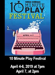 Ten Minute Play Festical