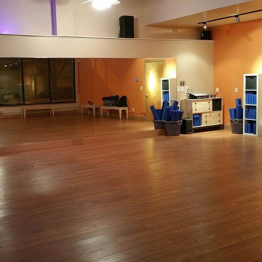VMAC - A spacious dance studio with large mirrors, smooth wooden floors
