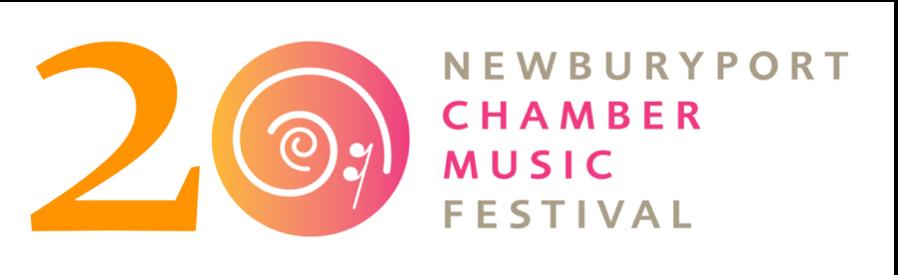 NCMF 20th Anniversary logo