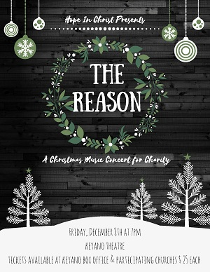 The Reason Christmas Concert @ Keyano Theatre | Fort McMurray | Alberta | Canada