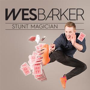 Wes Barker. Stunt Magician @ Keyano Theatre | Fort McMurray | Alberta | Canada